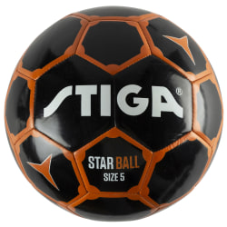 Star Ball 5 Black/Orange