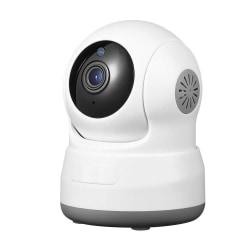 Trådlös övervakningskamera - IP kamera med rörelsedetektor, mörk Vit