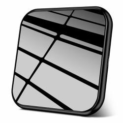 Trådlös snabbladdare 10W Aluminium Black