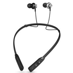 Trådlösa sporthörlurar med Bluetooth Svart/Grå