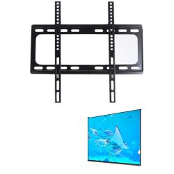 TV-väggfäste för 32-60-tums platt tv - Svart Svart