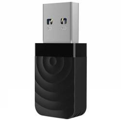 USB 3.0 Wifi Adapter Dual Band AC1300 Svart