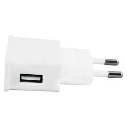 USB Laddare 230V 2.1A Vit White