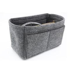 Väskinsats för handväska, Stl M - Grå