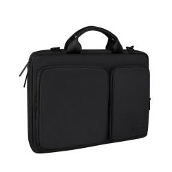 Vattentåligt laptopfodral 13.3 tum - svart