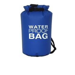 Vattentät väska - 5 liter - blå