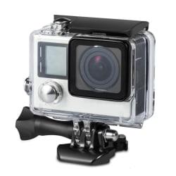 Vattentätt skal - kamerahus till GoPro Hero4 / 3+ / 3 transparen Transparent