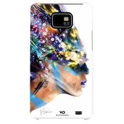 WHITE-DIAMONDS Nafrotiti Vit Samsung S2 Skal multifärg