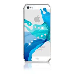 WHITE-DIAMONDS Skal iPhone 5/5s/SE Liquids Blå