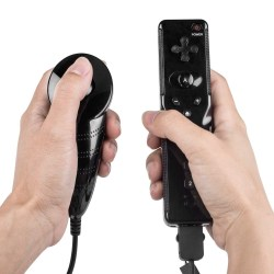 Wii Remote och Nunchuk controller Svart