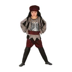 Maskeraddräkt pirat ghost  Svart
