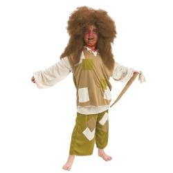 Maskeraddräkt troll för barn strl 110-116 multifärg