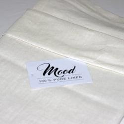NG Baby Påslakanset Bäddset Mood Ivory 100% linne säng Ben vit