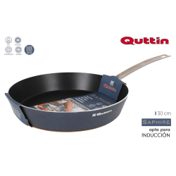 Quttin,30cm aluminum pan. press m / steel