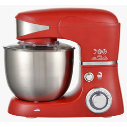 Royalty Line Kitchen Machine 1600W, 5.5L, red röd