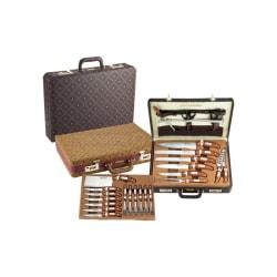 Royalty-Line Knivset rostfritt stål 25 delar med väska