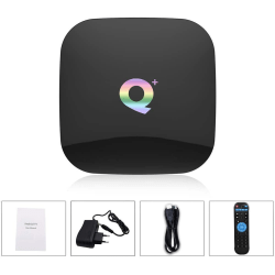 Android TV Box, Q Plus TV Box Android 9.0