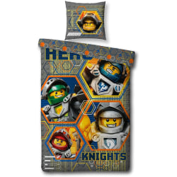 Bedding set compatible with Nexo Knights motif,