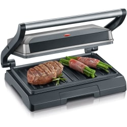 Severin 800W multifunctional compact grill,
