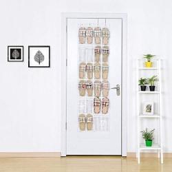 Skoställ för dörr 24 par skor