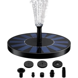 Solar Brunn Pumpe, 7 V 1,4 W 50 cm trädgård springbrunn solar
