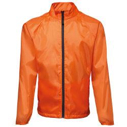 2786 Kontrast Lättvikts Windcheater duschprovjacka M Orange / sv