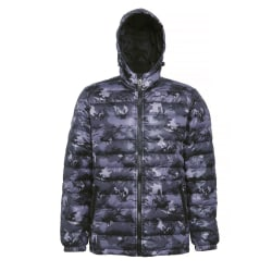 2786 Vadderad Hooded Water & Wind Resistent Padded Jacket XL
