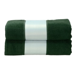 A&R Towels Subli-Me badhandduk One Size Mörkgrön