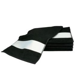 A&R Towels Subli-Me Sport Handduk One Size Svart