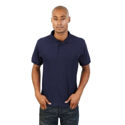 Absolulte Apparel Herr HydroFX Polyester Polo L Marin