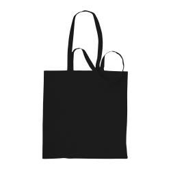Absolute Apparel Bomullshopparväska (paket med 2) One Size Svart