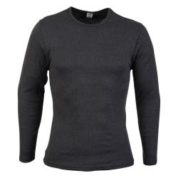 Absolute Apparel Långärmad T-shirt för herrar 2XL Träkol