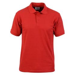 Absolute Apparel Precision Polo för herrar 7XL Röd
