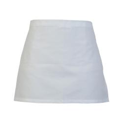Absolute Apparel Vuxna arbetskläder midjeförkläde One Size Vit
