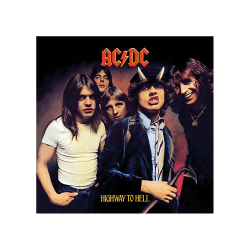 AC/DC Highway to Hell Canvastryck One Size Flerfärgade
