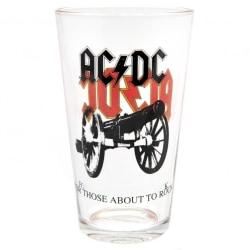 AC/DC Stort glas 500ml Flerfärgade