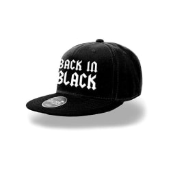 AC/DC Svart i svart Snapback Design Cap XL Svart