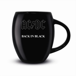 AC/DC Tillbaka i svart mugg One Size Svart