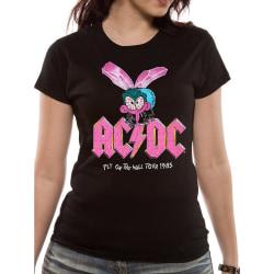 AC/DC Unisex vuxna flyga på väggen Design T-shirt XL Svart