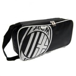 AC Milan Unisex fotbollsväska för vuxna One Size Svart / Vit