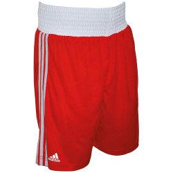 Adidas Unisex boxningsshorts för vuxna S Röd