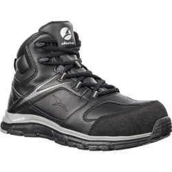 Albatros Herr Vigor Impulse Mid Safety Boots 7 UK Svart