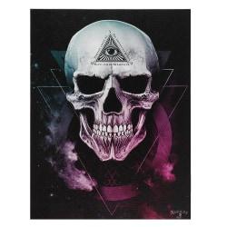 Alchemy Void Canvas Plack One Size Black / Purple / White