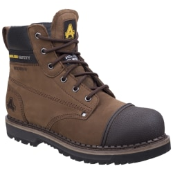 Amblers AS233 Läder Scuff Boot 7 UK Brun