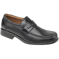 Amblers Manchester Leather Loafer / Herrskor 11 UK Svart