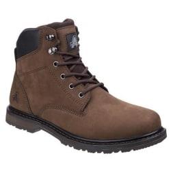 Amblers Mäns Millport Lace Up Boot 8 UK Brun