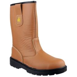 Amblers Safety FS124 Safety Rigger Boot / Mens-stövlar 7 UK Solb