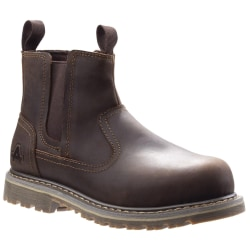 Amblers Safety Womens AS101 Alice Slip On Safety Boot 8 UK Brun