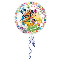 Amscan 18 tums Disney Mickey Mouse & Friends Circular Foil B
