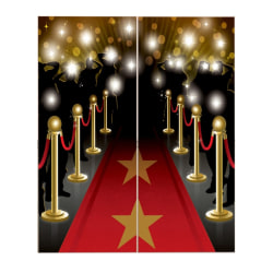 Amscan Hollywood Scene Setters Party Decoration Kit H165x82.5cm